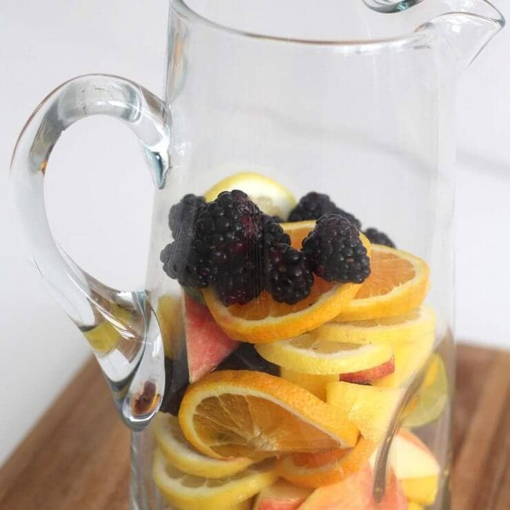 non-alcoholic sangria recipe