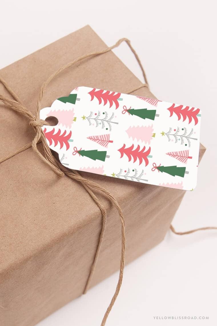 Free Christmas Gift Tags - I Heart Nap Time
