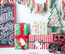 Six Christmas Gift Tags... download these adorable, free holiday tags to dress up all your gifts this season!