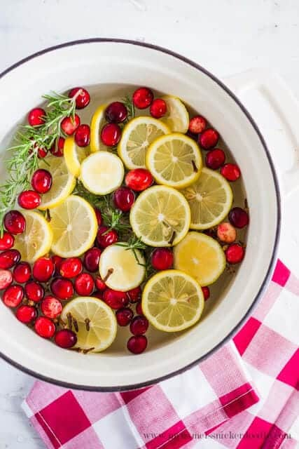 Holiday Stovetop Citrus Potpourii
