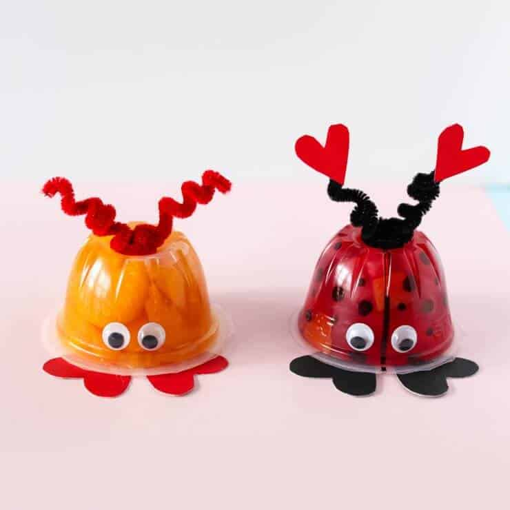 These Valentineu0027s Day Love Bug Fruit Cups Are The Perfect Non Candy  Valentine For Kids