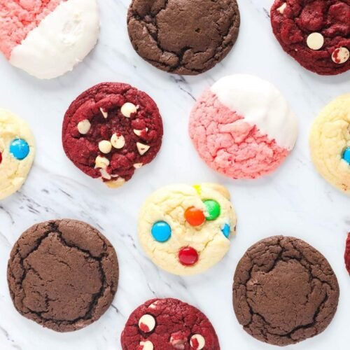 3 Ingredient Cake Mix Cookies 4 Ways I Heart Naptime