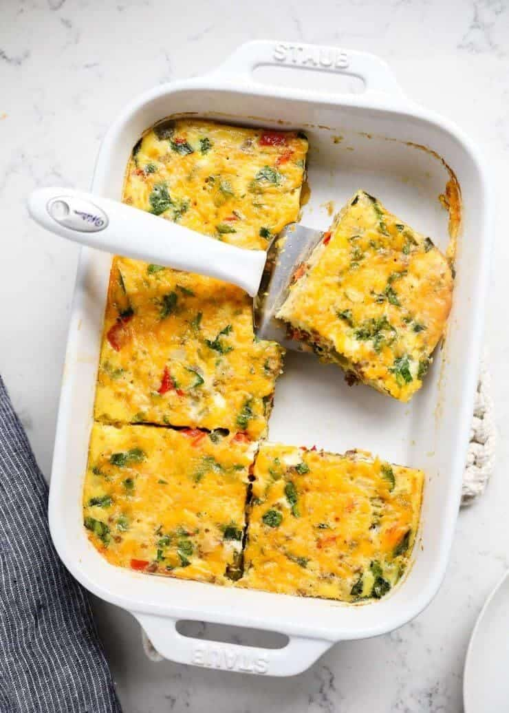 Make Ahead Sausage And Egg Breakfast Casserole One Of My Go To