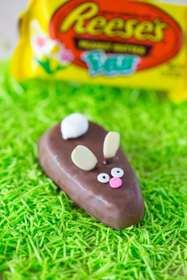 Easter bunny treats + 25 Easter Crafts for Kids - Fun-filled Easter activities for you and your child to do together!