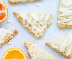 Orange scones + Top 50 Easter Brunch Recipes that will please every guest on your list!