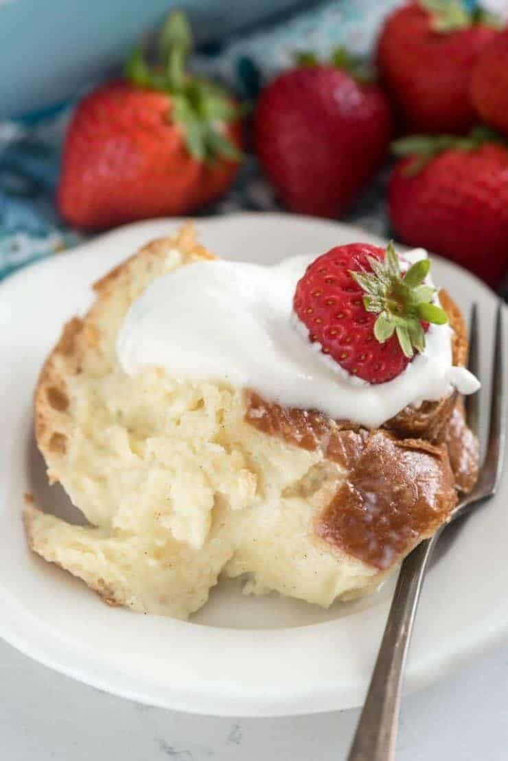 tres leche french toast casserole + Top 50 Easter Brunch Recipes that will please every guest on your list!