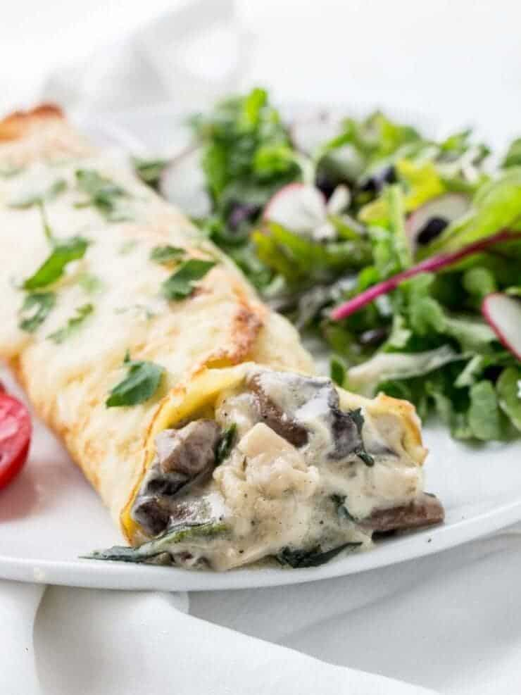 chicken florentine crepes low carb maven + Top 50 Easter Brunch Recipes that will please every guest on your list!