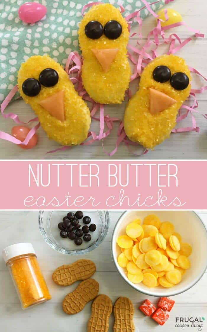 easter nutter butter chicks 25 Easter Crafts for Kids - Fun-filled Easter activities for you and your child to do together!