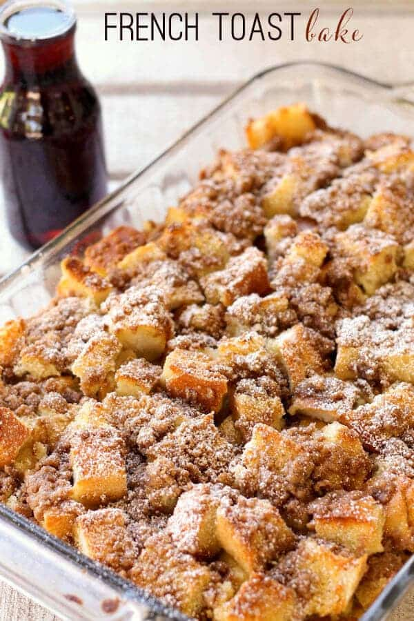 french toast bake lil luna + Top 50 Easter Brunch Recipes that will please every guest on your list!
