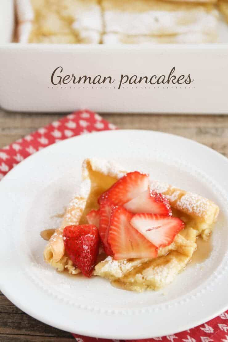 german pancakes IHN + Top 50 Easter Brunch Recipes that will please every guest on your list!