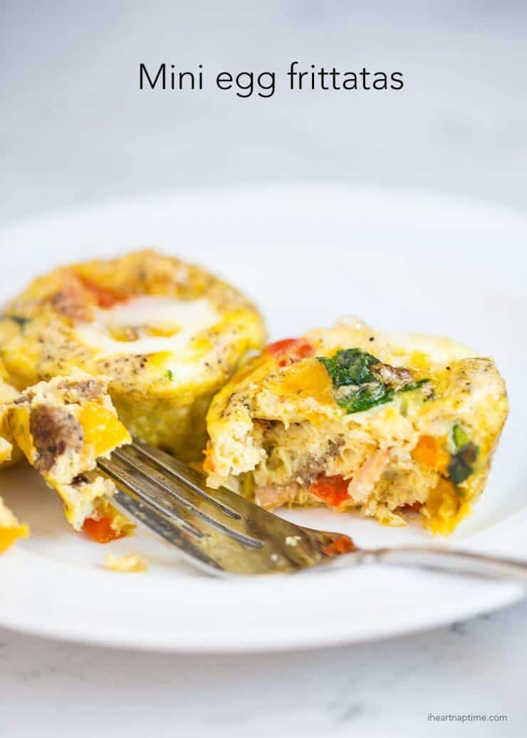 mini egg frittata + Top 50 Easter Brunch Recipes that will please every guest on your list!