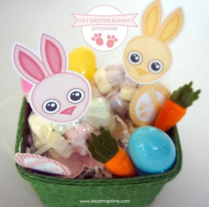 Pet Easter Bunny Printables + 25 Easter Crafts for Kids - Fun-filled Easter activities for you and your child to do together!