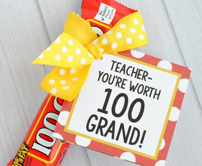 25 Handmade Gift Ideas for Teacher Appreciation ...the perfect way to let those special teachers know how important they are in the lives of your children!