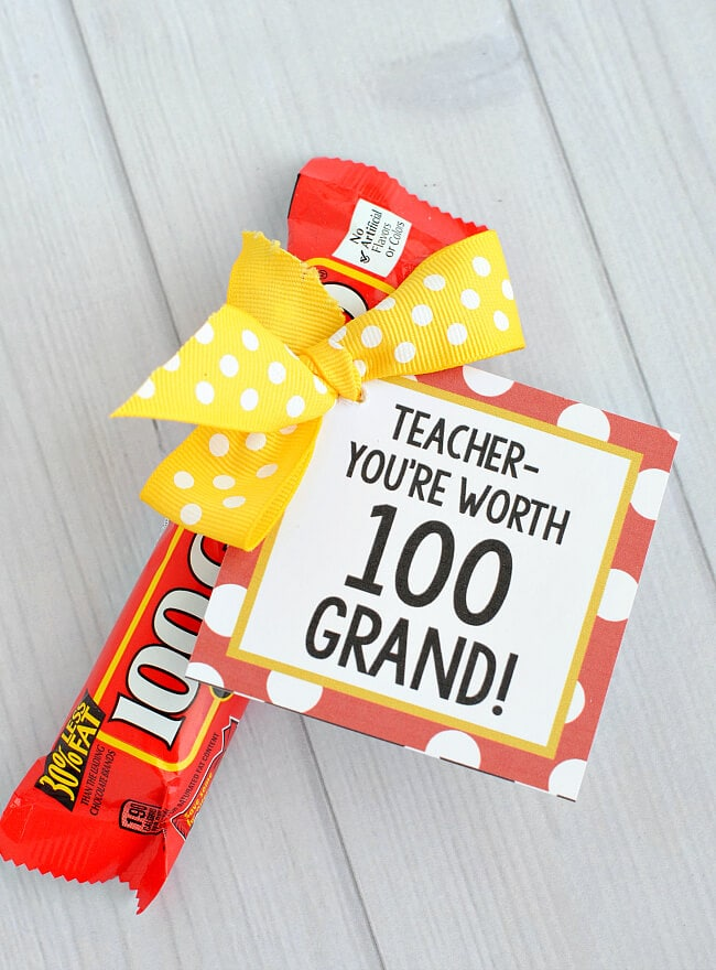25 Handmade Gift Ideas for Teacher Appreciation - I Heart ...