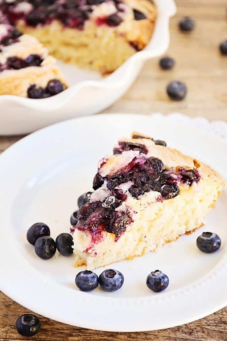 Blueberry Buttermilk Cake + 50 Delicious Berry Recipes... refreshingly sweet treats that you can enjoy all summer long!