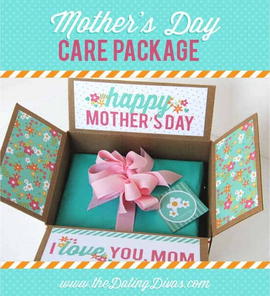 Mother's Day Care Package + 25 Free Mother's Day Printables - Beautiful and easy gift ideas to honor the women who make the world go round!