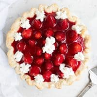 Fresh Strawberry Pie + 50 Delicious Berry Recipes… refreshingly sweet treats that you can enjoy all summer long!