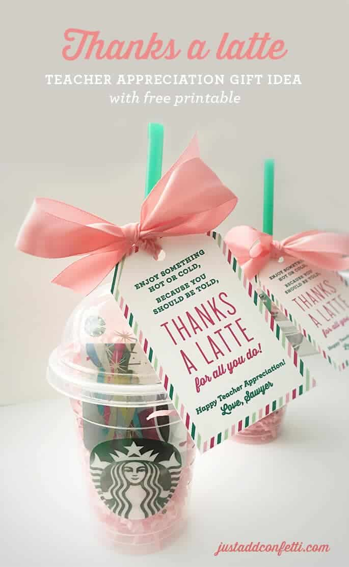 25 Handmade Gift Ideas for Teacher Appreciation - I Heart ...