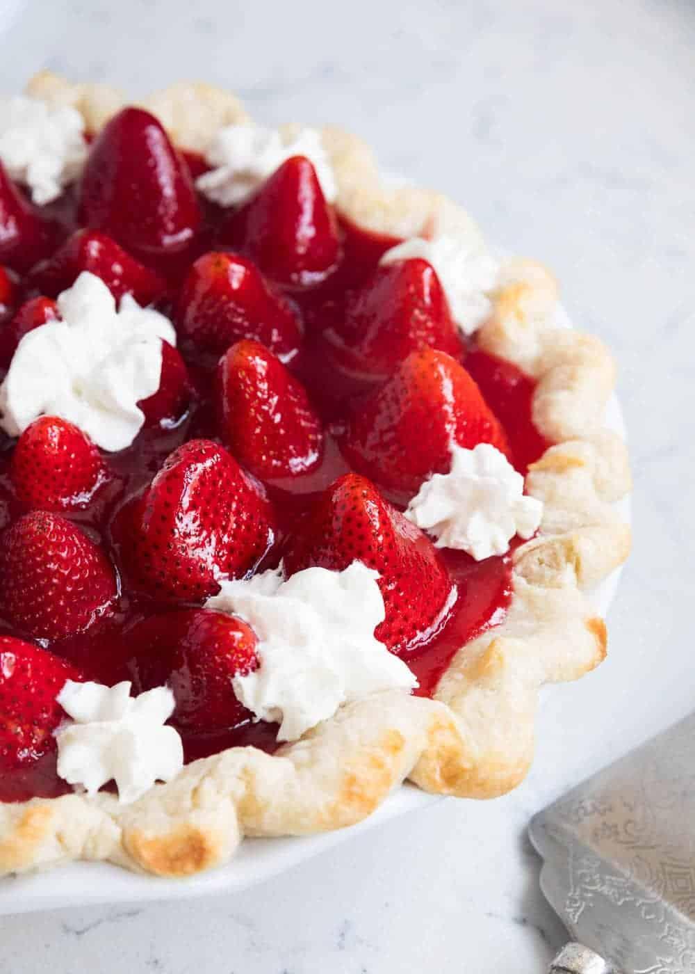Fresh Strawberry Pie I Heart Nap Time