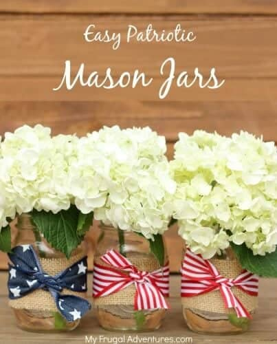 4th of July Crafts: 15 Red, White and Blue Centerpieces