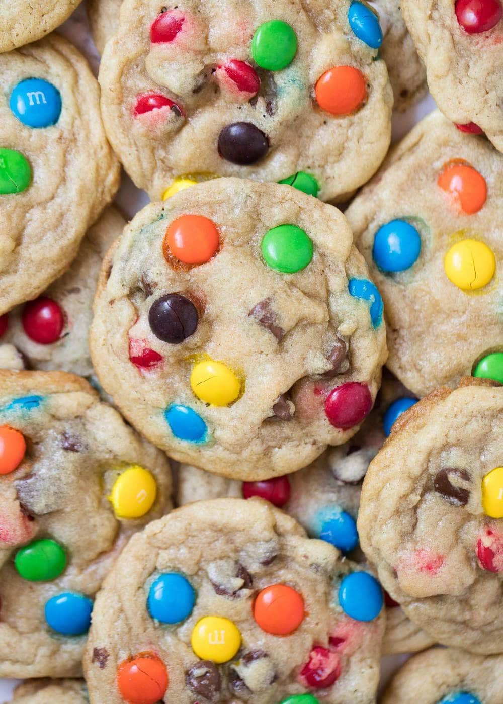 dd3989159 BEST M&M Cookies Recipe (+ Video) - I Heart Naptime