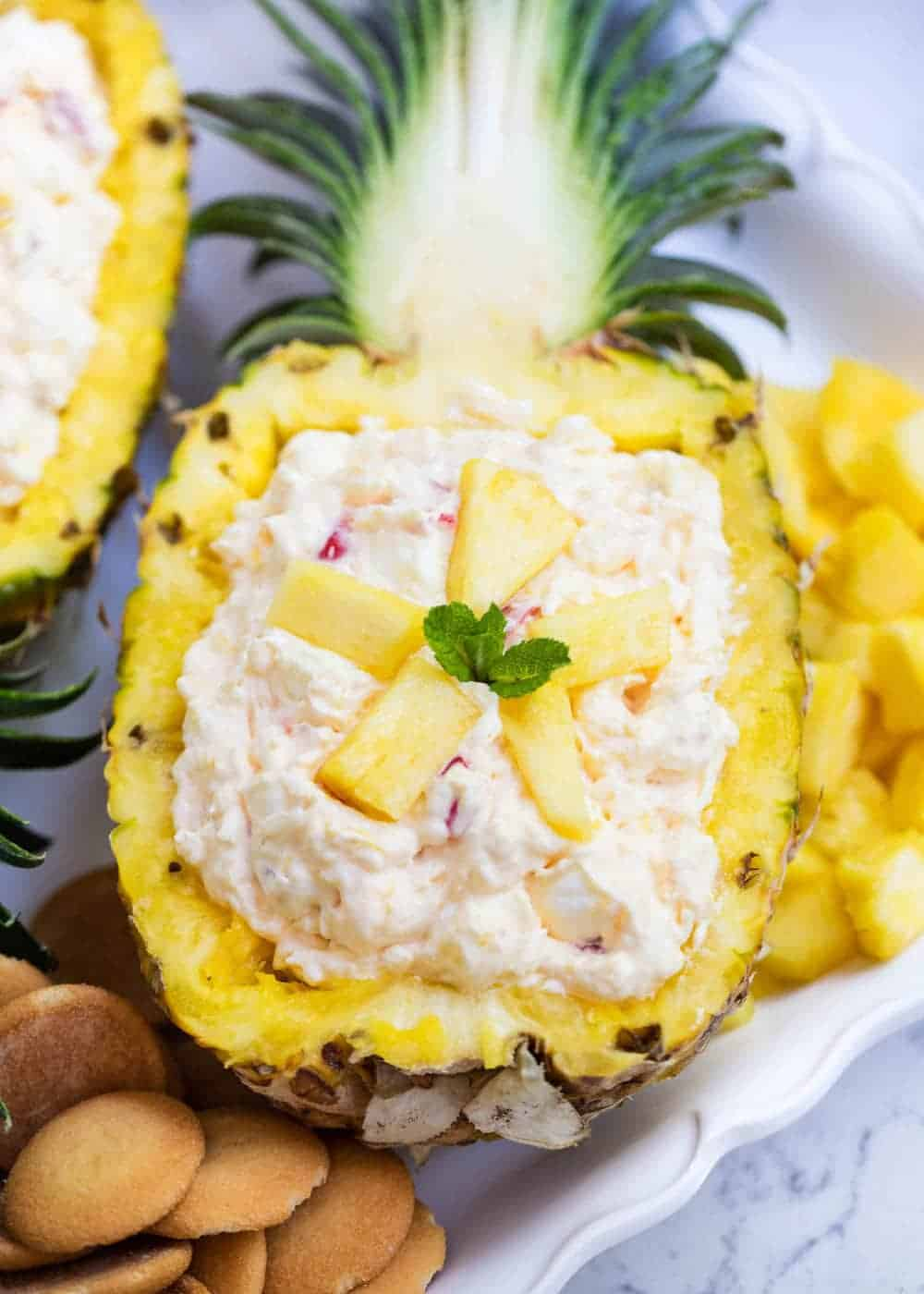Easy Pineapple Fluff Only 5 Ingredients I Heart Naptime