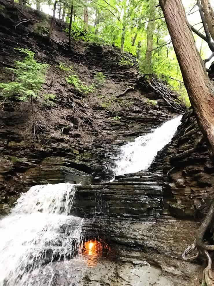 Eternal Flame Falls, NY