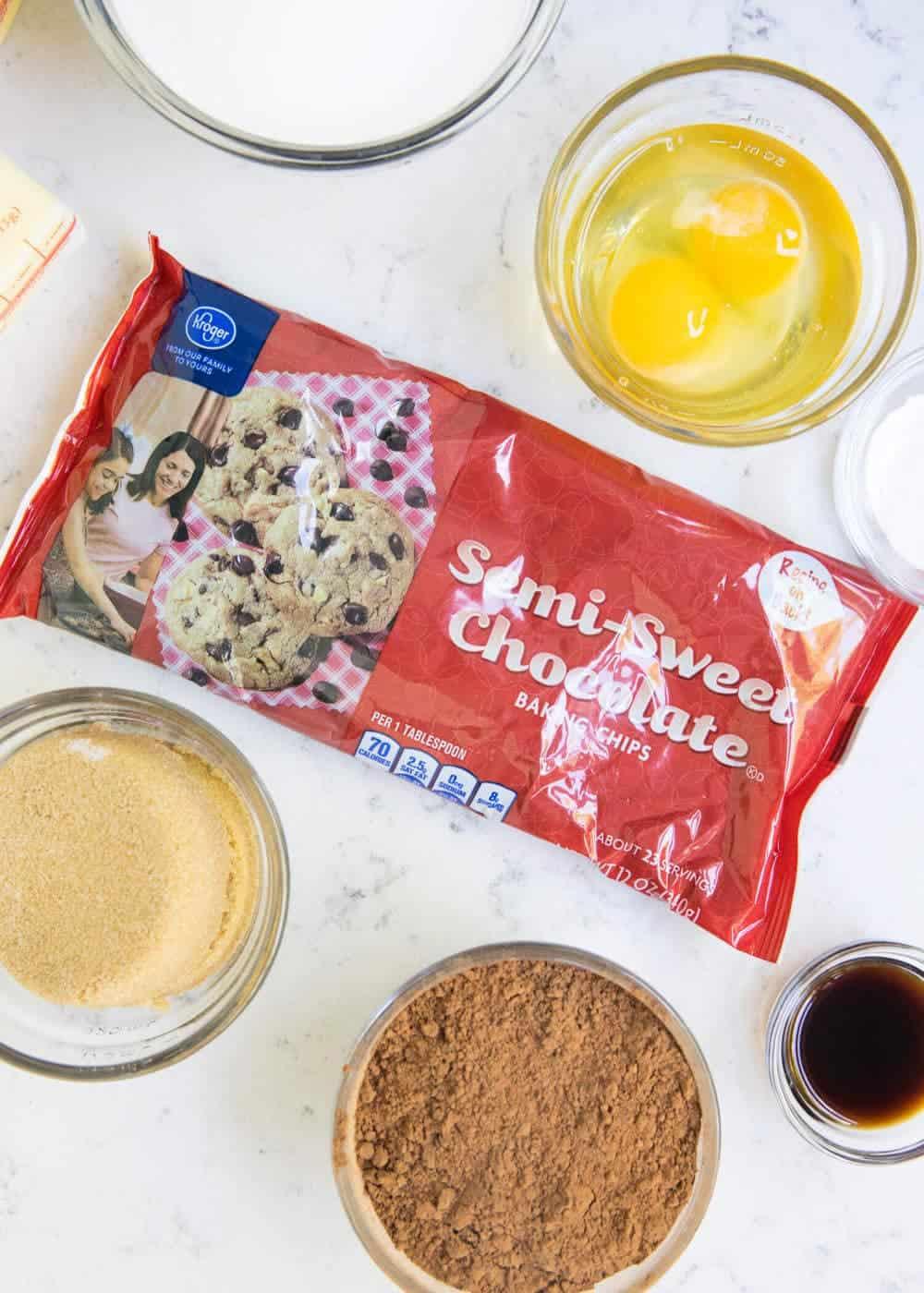 baking ingredients on counter