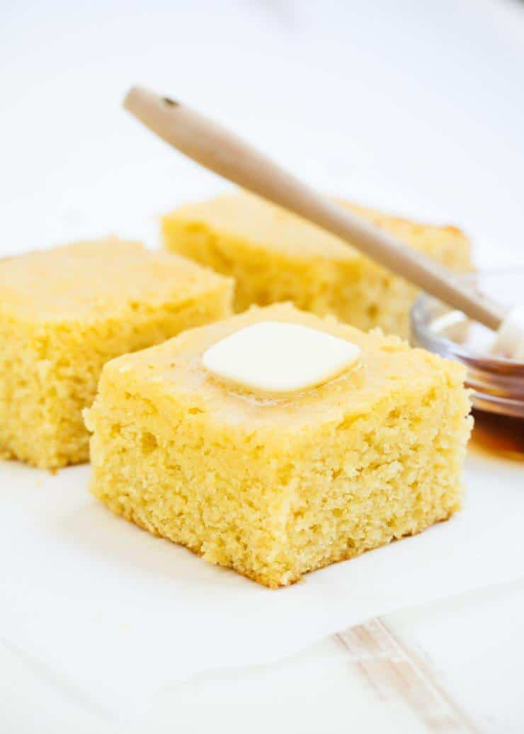 This honey corn bread is one of my favorites to make during the fall. It goes perfect with a hot bowl of chili.