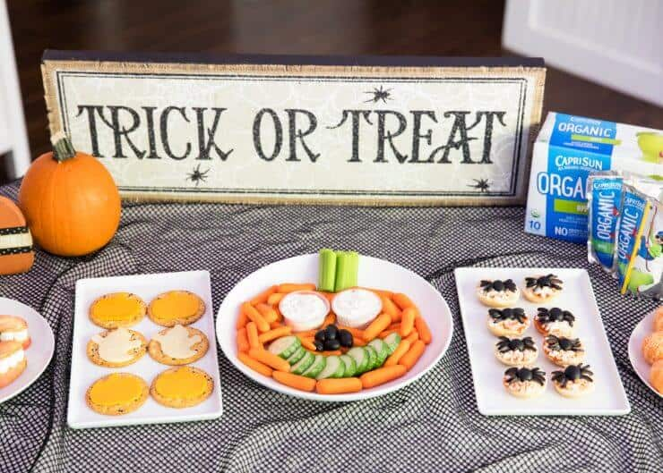 Our favorite Halloween snack ideas for school …cute, easy, non-candy ideas that kids will love!