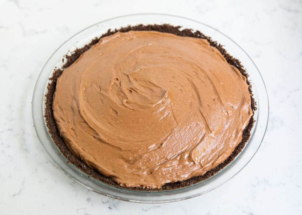 How to make a chocolate silk pie