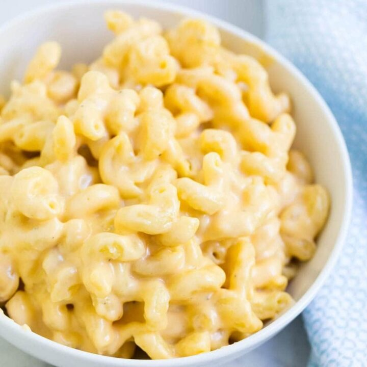 bowl of mac and cheese