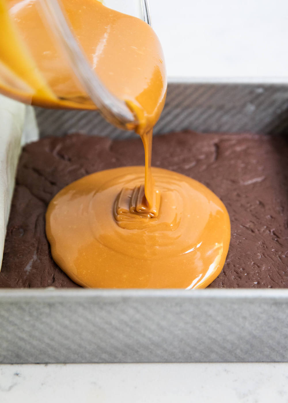 caramel chocolate fudge