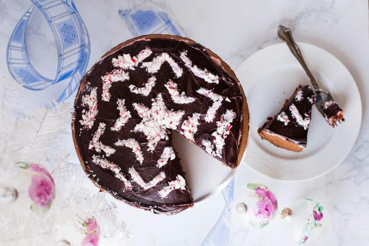 Impress your guests this holiday season with Chocolate Peppermint Dream Cake. A luscious confection with layers of super rich chocolate and refreshing peppermint.