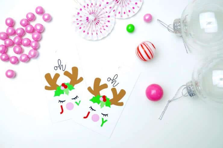 Candy Ornament Gift Tags are the perfect way to dress up your gifts this holiday season!