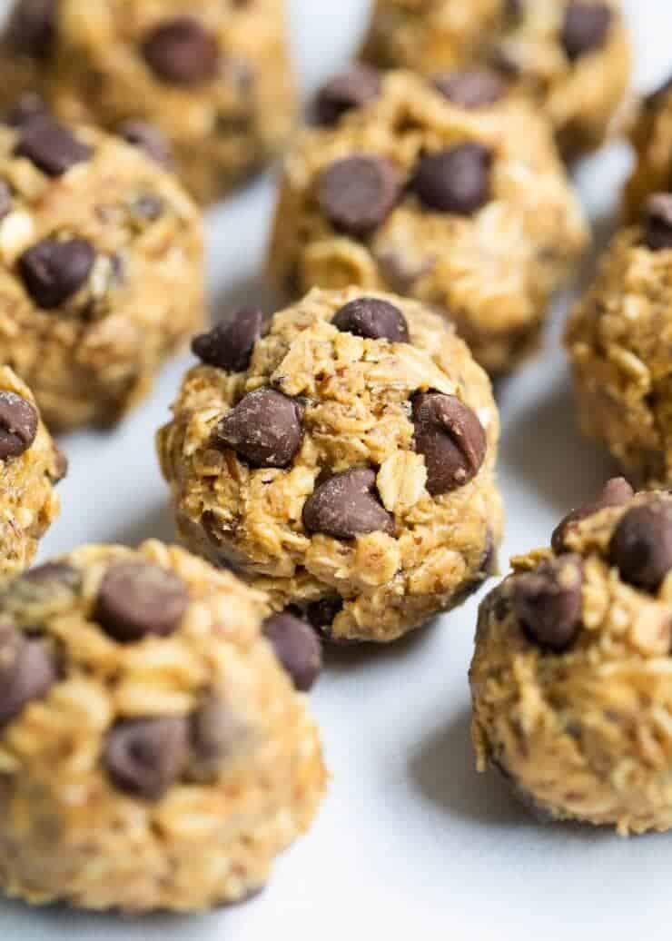 Peanut butter energy balls -SO good!