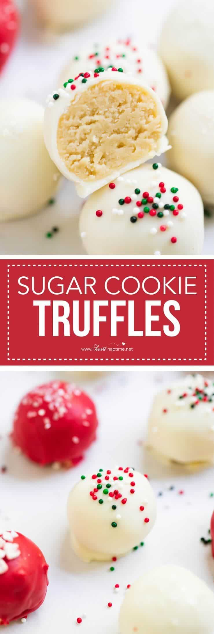 Sugar Cookie Truffles I Heart Nap Time