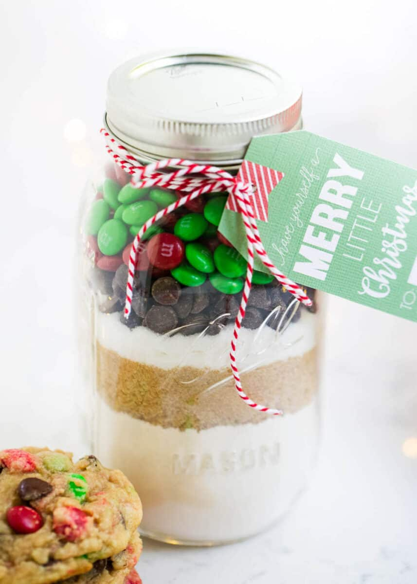 Cookie Mix In A Jar With Free Printable I Heart Nap Time
