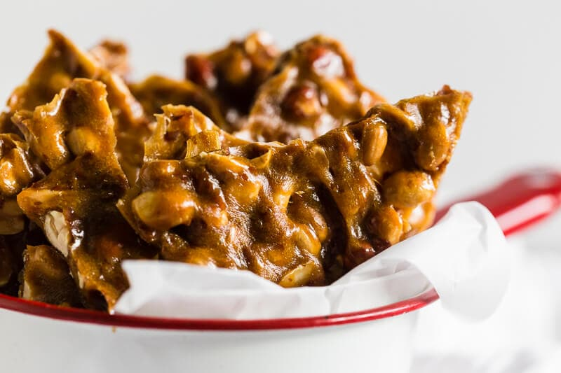 maple peanut brittle only 25 minutes i heart naptime