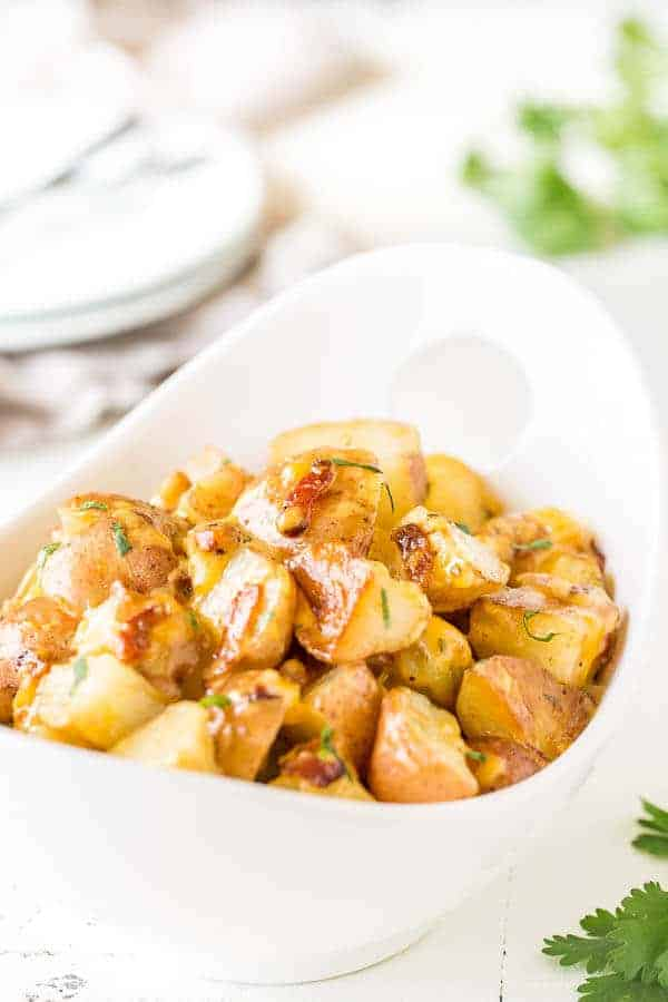 Instant pot bacon ranch potatoes