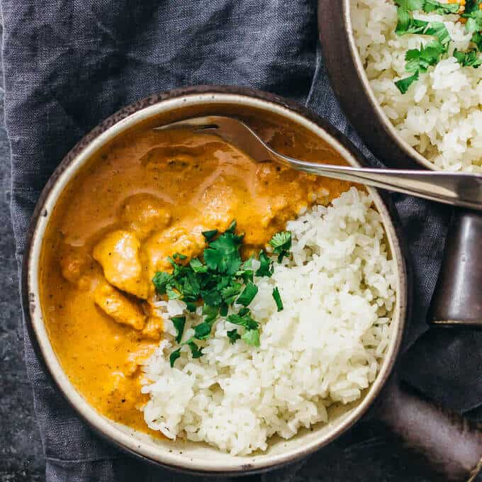 Instant pot chicken tikka marsala