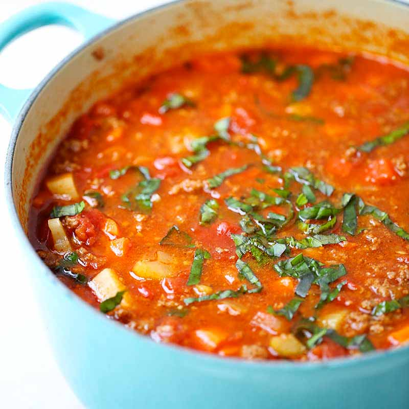 Hearty Vegetable Soup (whole 30 Approved Recipe)