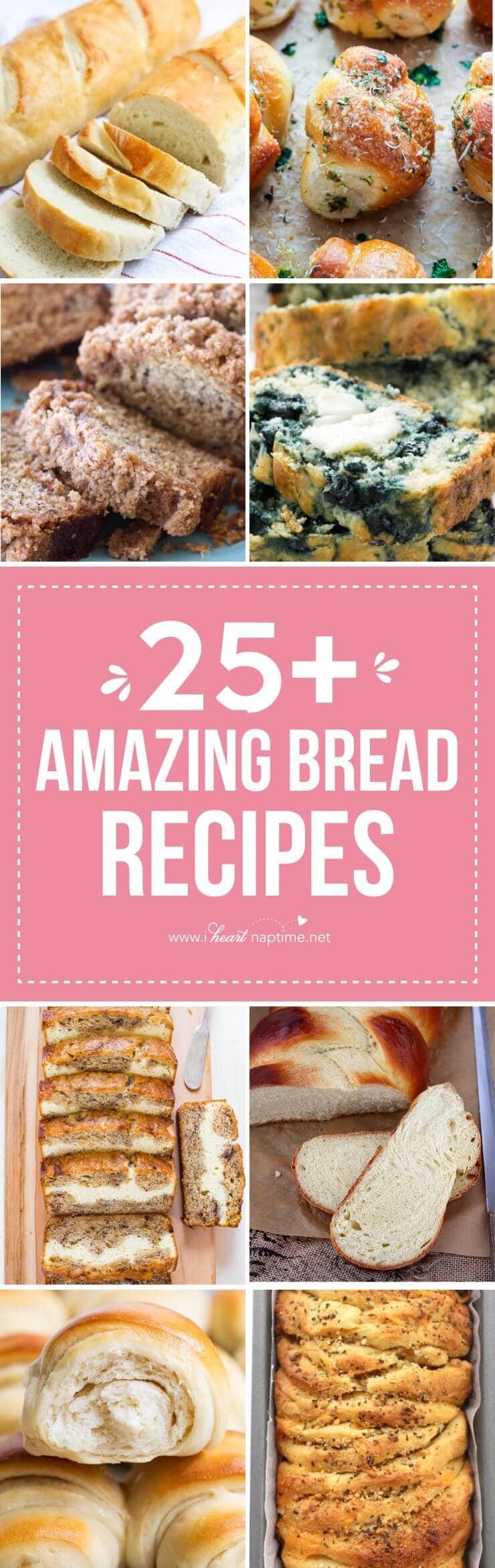 amazing bread recipes