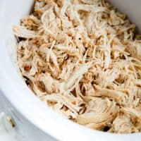 shredded chicken recipe