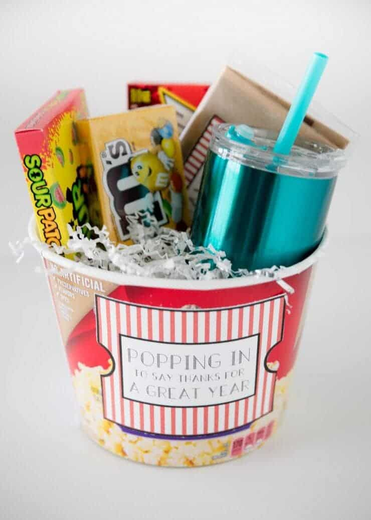 popcorn gift teacher appreciation