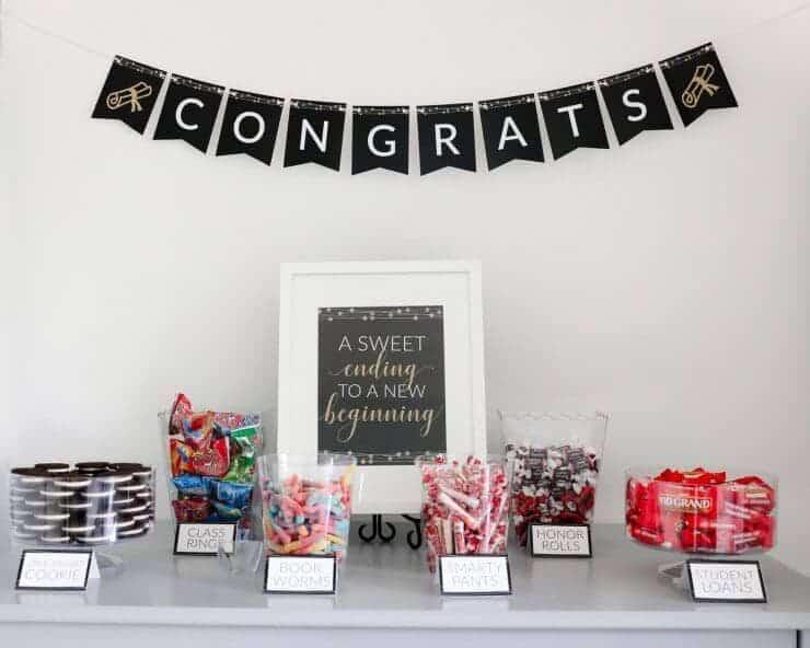 Pleasant Graduation Candy Buffet I Heart Naptime Interior Design Ideas Tzicisoteloinfo