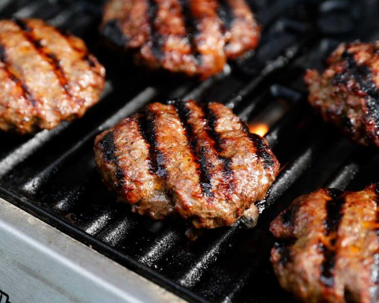 grilled hamburger recipe