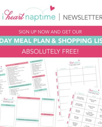 7-day meal plan templates