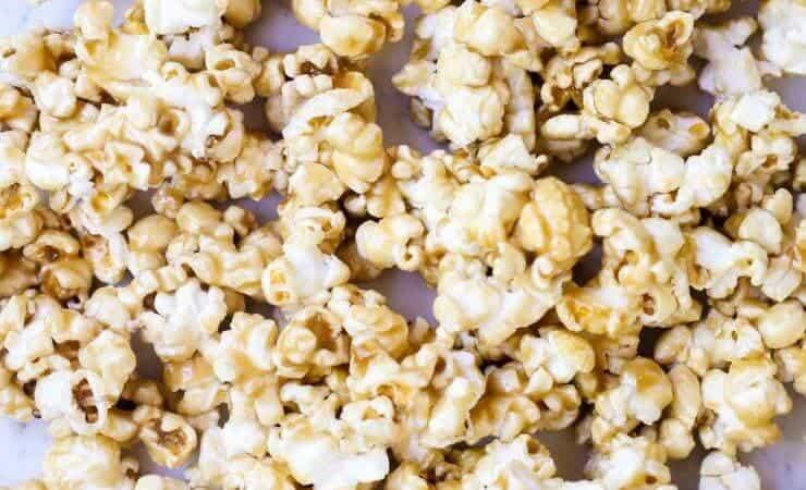 microwave caramel corn recipe