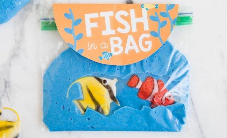 beach slime fish in a bag